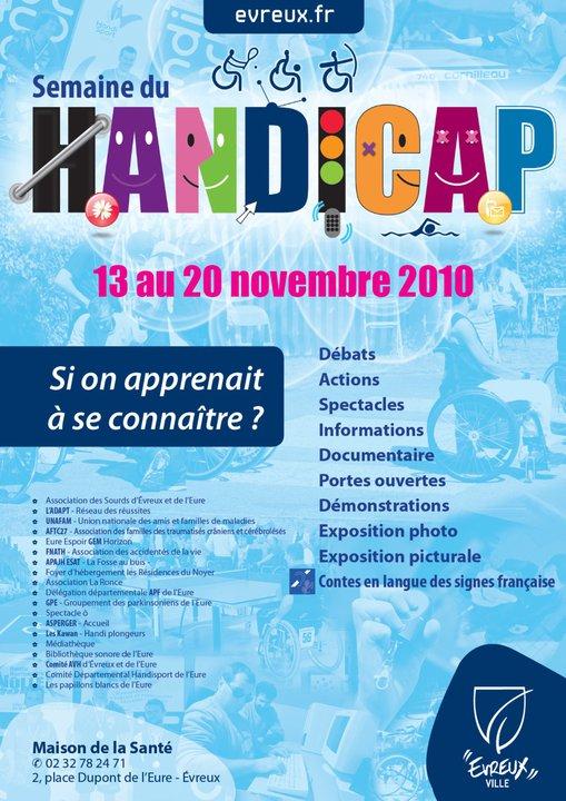 Forum du Handicap du 13 au 20 novembre 2010